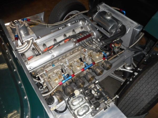 1956-Jaguar-D-Type-Replica-For-Sale-Engine